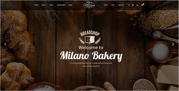 Elegant Cake WordPress Theme