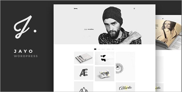 Elegant Freelancers WordPress Theme