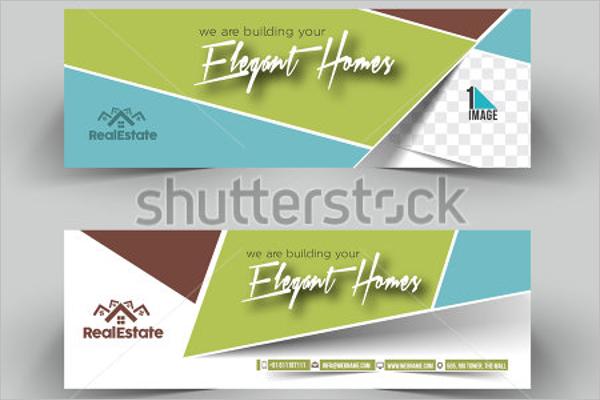Elegant Real Estate Banner Template