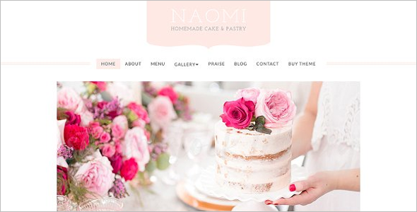 Event Cake WordPress Theme