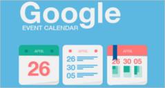 Event Calendar Templates