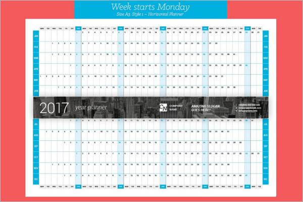 Year Event Calendar Template : Event calendar templates free premium designs