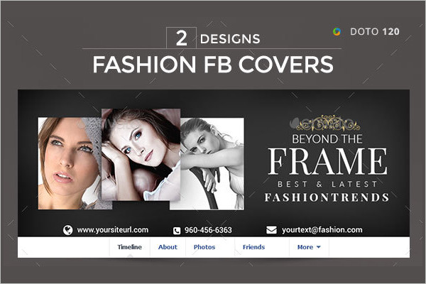 Fashion Facebook Cover Design