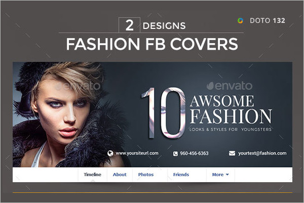 Fashion Facebook Marketing Cover