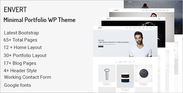 Fashion Portfolio WordPress Theme