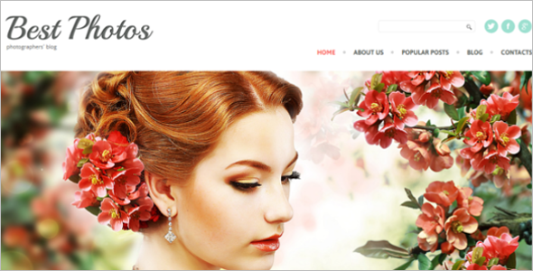 Fashion Video Blog WordPress Theme