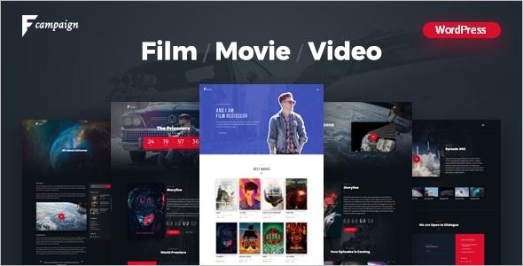Film Movie WordPress Theme