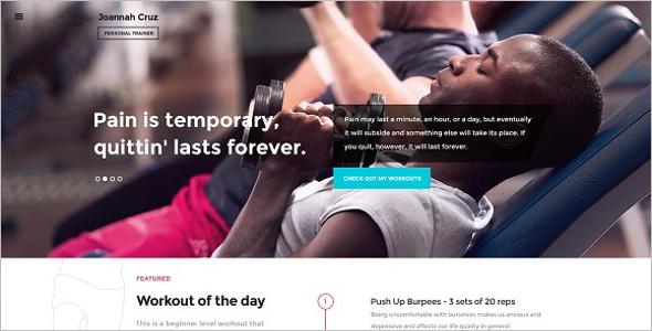 Fitness BuddyPress Theme