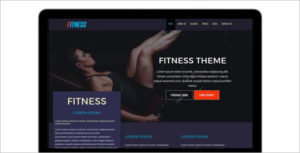 Fitness Plus HTML 5 Template