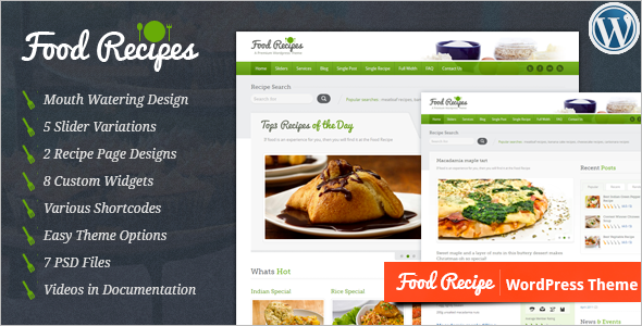 Food WordPress Theme