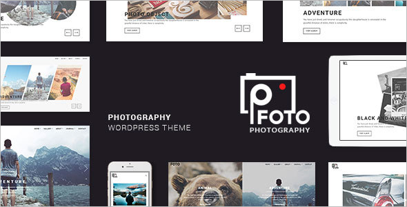 Foto WordPress Themes for Photographers