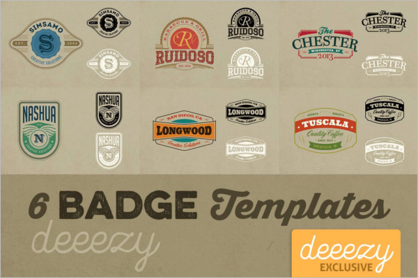 Free Badge Template
