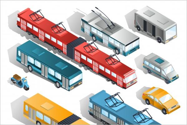 Free Bus Vector Illustration