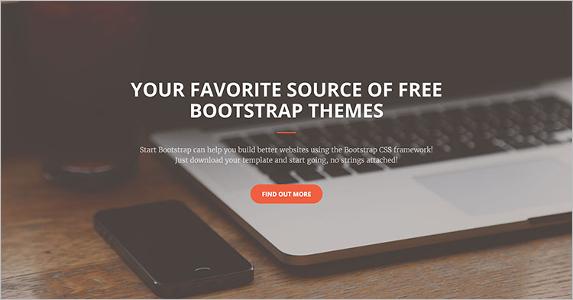 Free Business Landing Page Theme