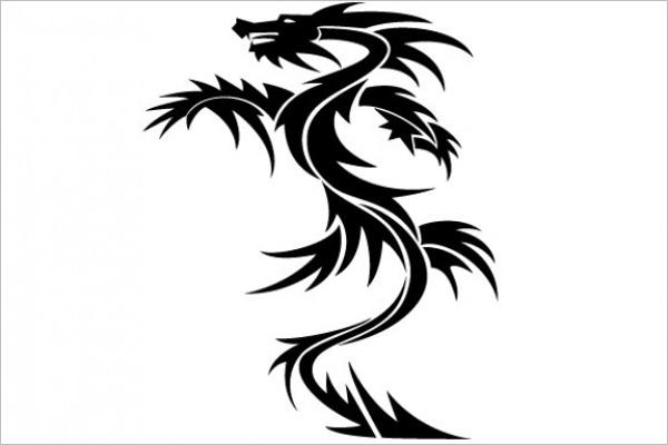 Free Dragon Tattoo Design