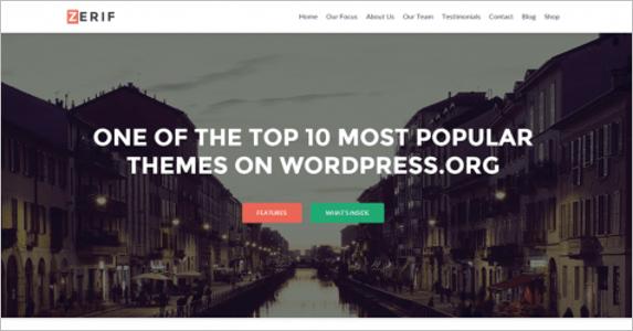 Free Editable Landing Page Theme