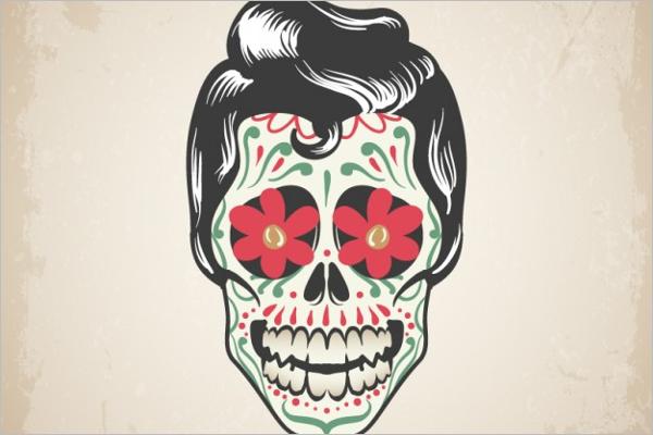Free Skull Tattoo Design