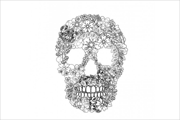 Free Skull Vector Art Design