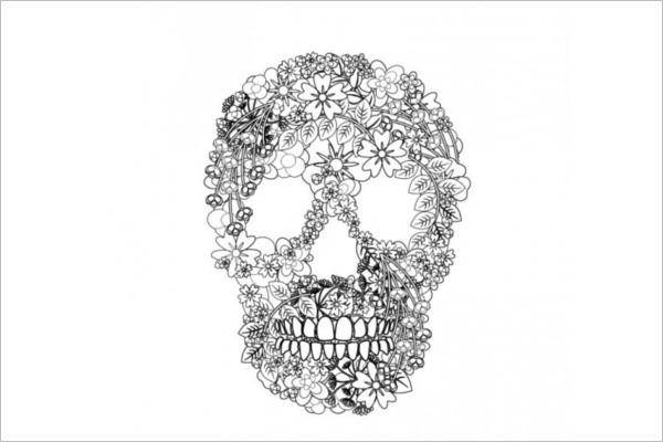 Free Skull Vector Art Design