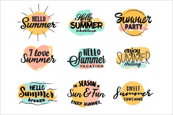 Free Summer Logo Design
