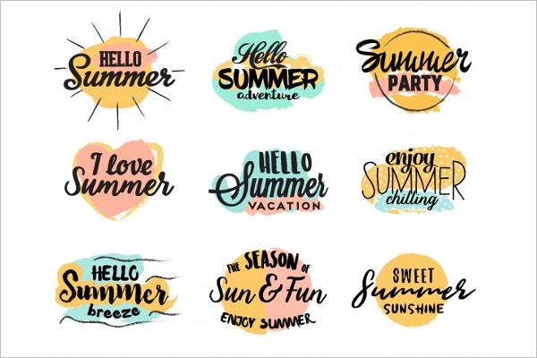 Free Summer Logo Design