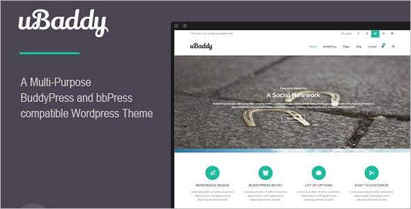 Fully Custamizable BuddyPress Theme