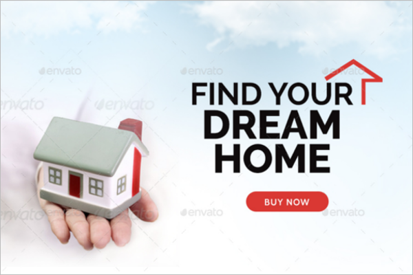 Fully Editable Real Estate Banner Template