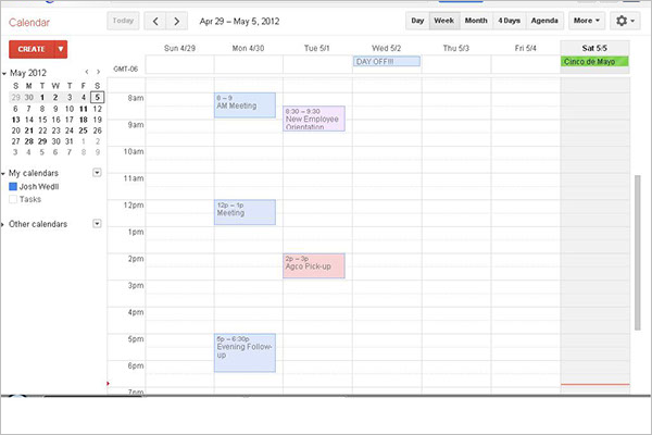 Calendar Google Docs : Calendar template on google docs