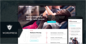 Gym Trainer WordPress Theme