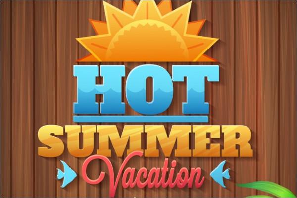 Handmade Summer Logo Design