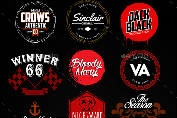 Hipster vintage badge templates free premium templates for Hipster logo generator