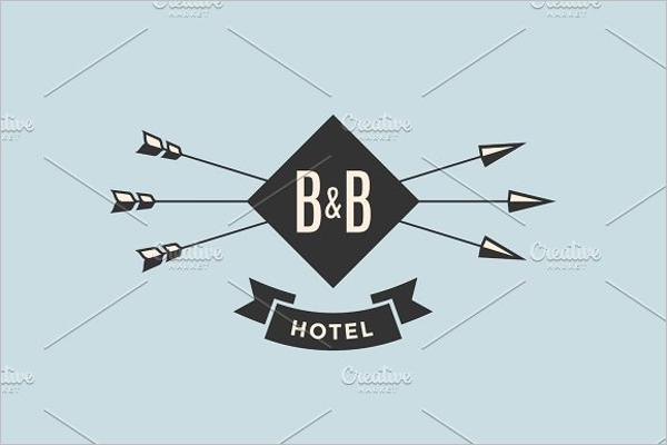Hotel Vintage Labels Design
