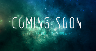 Html Website Coming Soon Templates