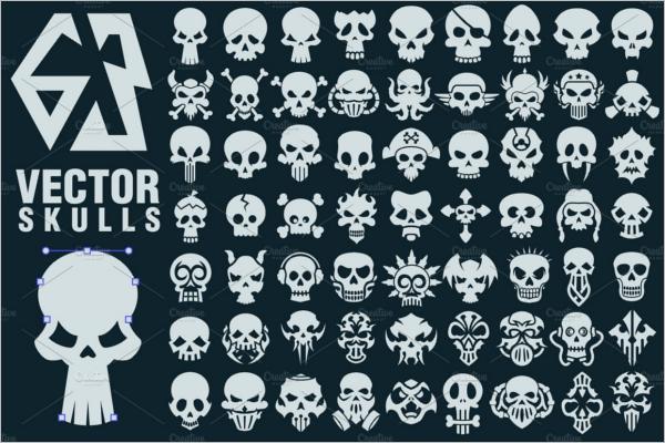 Human Skull Collection Design