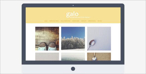 Illustrator Portfolio WordPress Theme