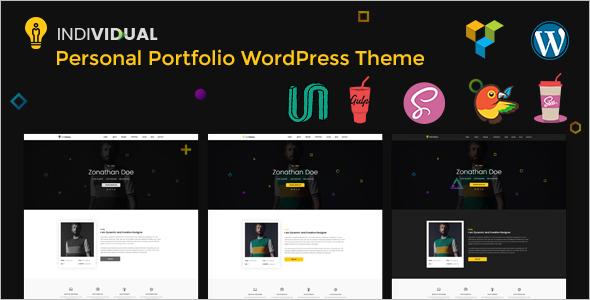 Individual Portfolio WordPress Theme