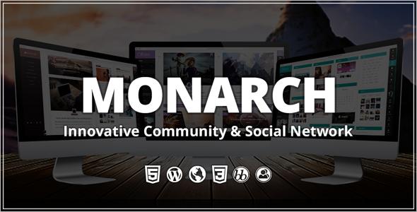 Innovative Community WordPress Theme