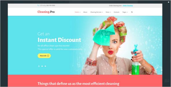 Instant Service Company WordPress Theme