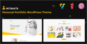 Intimate Portfolio WordPress Theme
