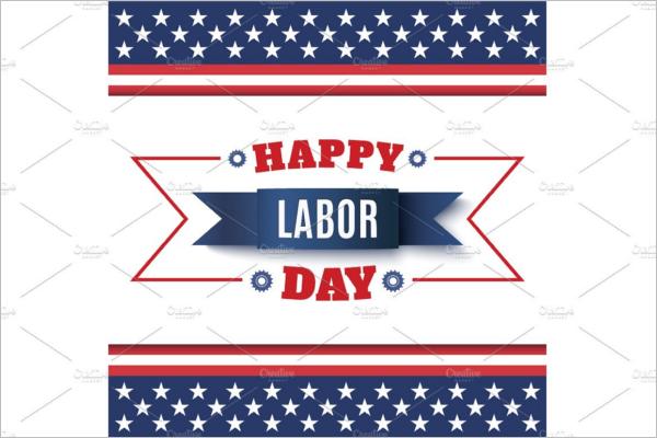 Labor Day Banner Background Design