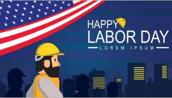 Labor Day Banner Template