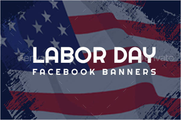 Labor Day Facebook Banner