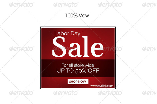 Labor Day Marketing Banner