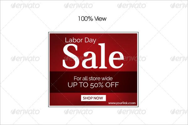 Labor Day Marketing Banner