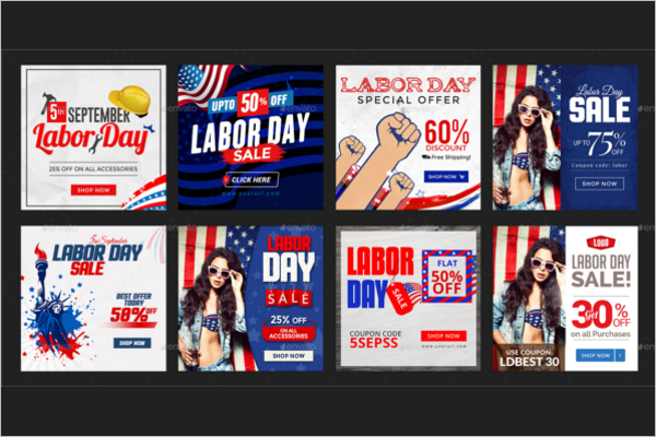Labor Day Social media Banner