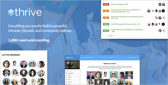 Latest BuddyPress WordPress Theme