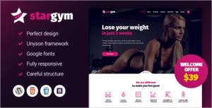 Latest Gym WordPress Theme