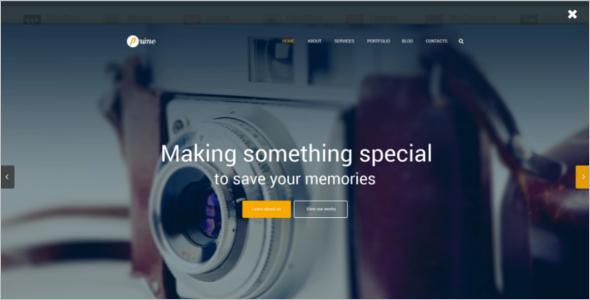 Latest Photographer WordPress Theme