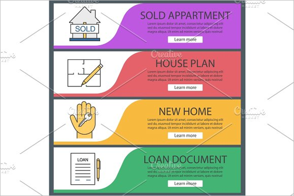 Latest Real Estate Banner Template