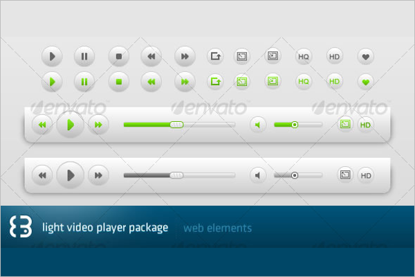 Light Video Player Package Design